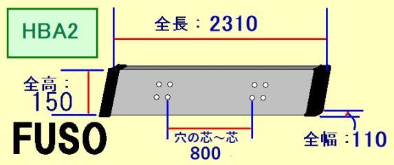 トラックサミット協議会 三菱 HBA2